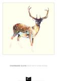 Deer wearing Gym Socks 高品質プリント : チャーメイン・オリビア