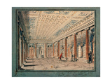 Interior of the Corner Hall in the Stroganov Palace Giclee Print by Andrei Nikiforovich Voronikhin