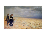 The Vanquished. Requiem Giclee Print by Vasili Vasilyevich Vereshchagin
