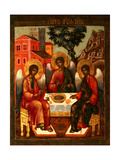 The Holy Trinity Giclee Print by Cornili Ulanov