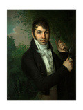 Portrait of Alexander Petrovich Dubovitsky Giclee Print by Vladimir Lukich Borovikovsky