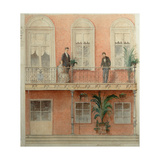 The Balcony Project for the Schwarz Family's House in the Estate Bely Kolodets Giclee Print