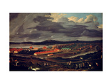 Ural. the Demidov Steelworks Giclee Print by Pavel Petrovich Vedenetsky