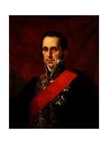 Portrait of Count Sergey Semionovich Uvarov (1786-1855) Giclee Print by Jan Ksawery Kaniewski