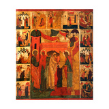 The Presentation of the Virgin Mary Giclee Print