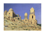 Necropolis Shah-i-Zinda (The Living King) in Samarkand Giclee Print