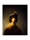 Self-Portrait, Aged 23 Giclee Print by  Rembrandt van Rijn