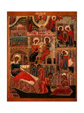 The Nativity of the Virgin Giclee Print