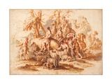 Jacob's Return Giclee Print by Giovanni Benedetto Castiglione