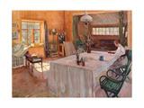 In the House of the Artist Konstantin Korovin Giclee Print by Sergei Arsenyevich Vinogradov