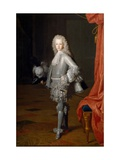 Louis I As Prince of Asturias Giclee Print by Michel-ange Houasse