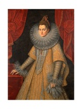 Portrait of Infanta Isabella Clara Eugenia of Spain (1566-1633) Giclee Print