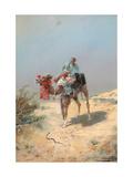 In the Desert Giclee Print by Nikolai Nikolayevich Karasin