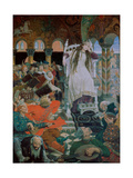 The Princess Who Never Smiled (Nesmeyana) Giclee Print by Viktor Mikhaylovich Vasnetsov