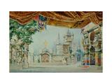 Stage Design for the Ballet 'Raimonda' by A. Glazunov Giclee Print by Konstantin Matveevich Ivanov