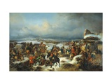The Capture of the Prussian Fortress of Kolberg on 16 December 1761 Giclee Print