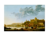 The Valkhof At Nijmegen Giclee Print by Aelbert Cuyp