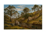 The Bath of Diana, Van Diemen's Land Giclee Print by John Glover