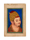 Portrait of Ibrahim Adil Shah II (1556-1627), Sultan of Bijapur Giclee Print