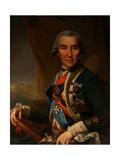 Portrait of Ivan Loginovich Golenishchev-Kutuzov (1729-1802) Giclee Print by Semyon Glukovsky