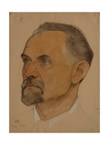 Portrait of Leonid Borisovich Krasin (1870-1926) Giclee Print by Nikolai Andreevich Andreev
