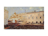 The Coronation of the Emperor Alexander III in the Moscow Kremlin on 15th May 1883 Giclee Print