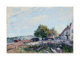Saint-Mammes. Morning Giclee Print by Alfred Sisley