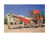 Vehicle of a Rich Family in Delhi Giclee Print by Vasili Vasilyevich Vereshchagin