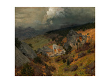 In the Crimean Mountains Giclee Print by Isaak Ilyich Levitan