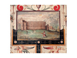 View of the Colosseum Giclee Print