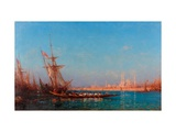 View of Istanbul Giclee Print by Felix-Francois George Ziem