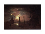 Autumn Night in St. Petersburg Giclee Print by Maxim Nikiphorovich Vorobyev
