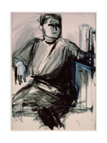 Self-portrait Giclee Print by Vera Mikhailovna Yermolayeva