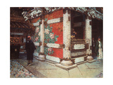 The Shinto Shrine At Nikko Giclee Print by Vasili Vasilyevich Vereshchagin