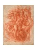 Lamentation Giclee Print by  Michelangelo Buonarroti