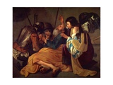 The Liberation of Saint Peter Giclee Print by Follower of Hendrick Terbrugghen