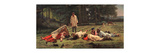 Rest At the Hay Harvest Giclee Print by Firs Sergeevich Zhuravlev