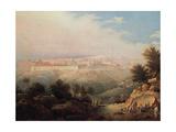 View of Jerusalem Giclee Print by Maxim Nikiphorovich Vorobyev