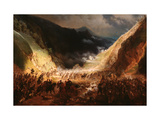 Battle of the Rothenthurm Pass Giclee Print by Gottfried Willewalde