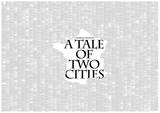 A Tale of Two Cities By Charles Dickens, France style Full Book text Poster Posters