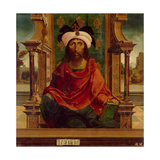 The Prophet Isaiah Giclee Print by  Maestro De Becerril