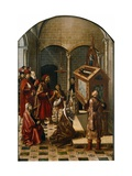 The Tomb of Saint Peter Martyr Giclee Print by Pedro Berruguete