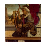 King David Giclee Print by  Maestro De Becerril