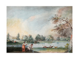 The Ponds Before the Urban Estate of Count Alexei Kirillovich Razumovsky in Moscow Giclee Print