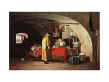 An Office in Muscovy Giclee Print by Alexander Stepanovich Yanov