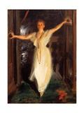 Isabella Stewart Gardner in Venice Giclee Print by Anders Leonard Zorn