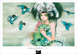 Iguana Art by Camilla D'Errico