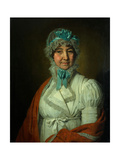 Portrait of Nadezhda Ivanovna Dubovitskaya Giclee Print by Vladimir Lukich Borovikovsky
