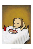 Revenge is a Dish (Dog) Prints by Luke Chueh