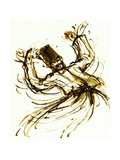 Whirling Dervish, Turkey, 2005, ink drawing Giclee Print